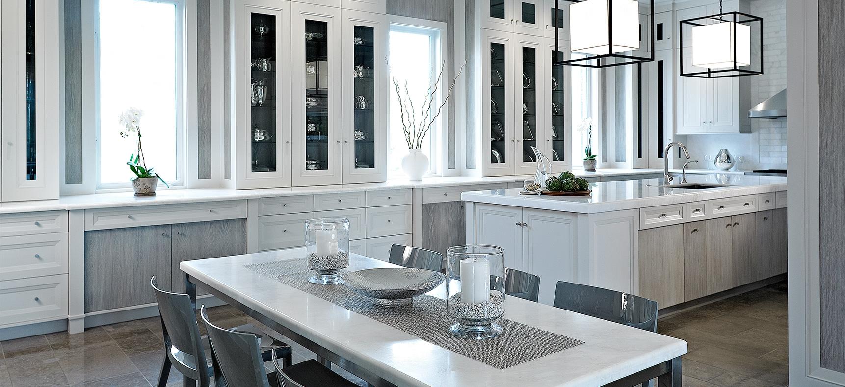 White Laquer Kitchen